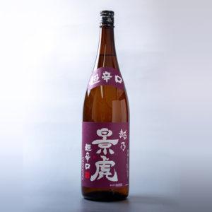 景虎 超辛口(無糖)(1,800ml)