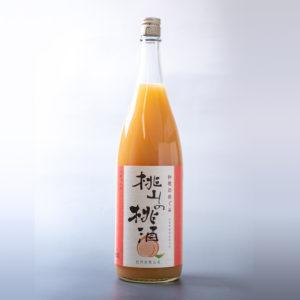 桃山の桃酒 (1800ml)
